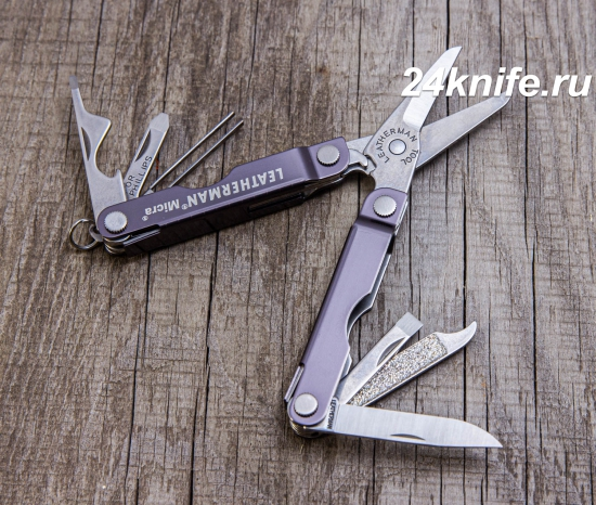 Leatherman Micra 64380012К (gray aluminium)